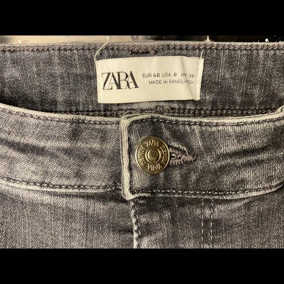 Zara grey skinny jeans, worn once